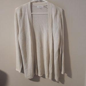 Calvin Klein Open Front Sweater